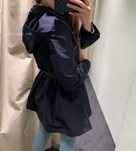 프라다 후드 여성 트렌치 코트 PRADA HOOD WOMAN'S TRENCH COAT 290300