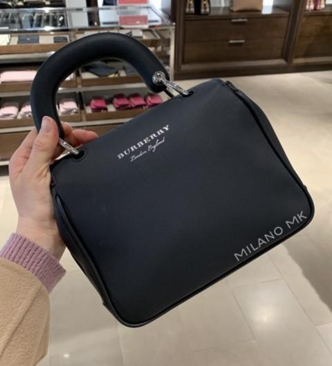 버버리 스몰 탑 핸들 토트백 BURBERRY SMALL TOP HANDLE TOTE BAG 40681541