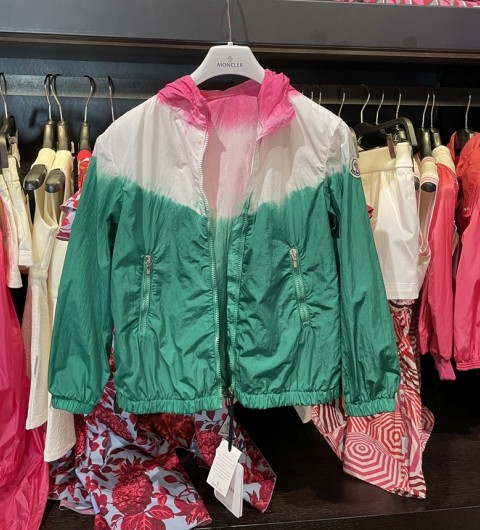 [세일][아울렛] 몽클레어 OLIVE 키즈 바람막이 자켓